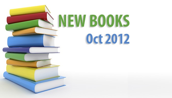 New books for October 2012