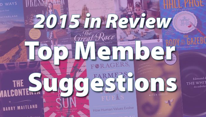 2015 in Review Member Suggestions