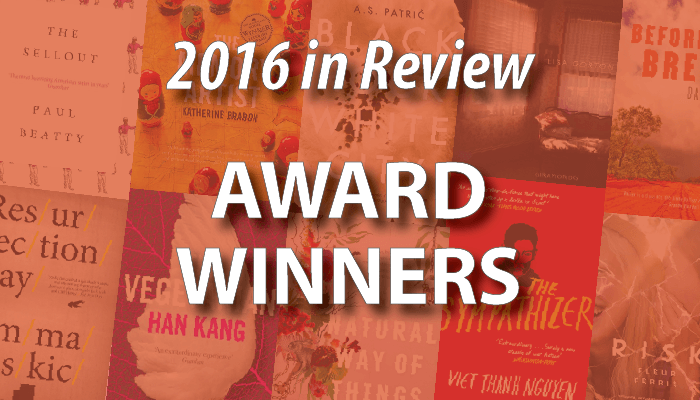2016 Award Winning Books