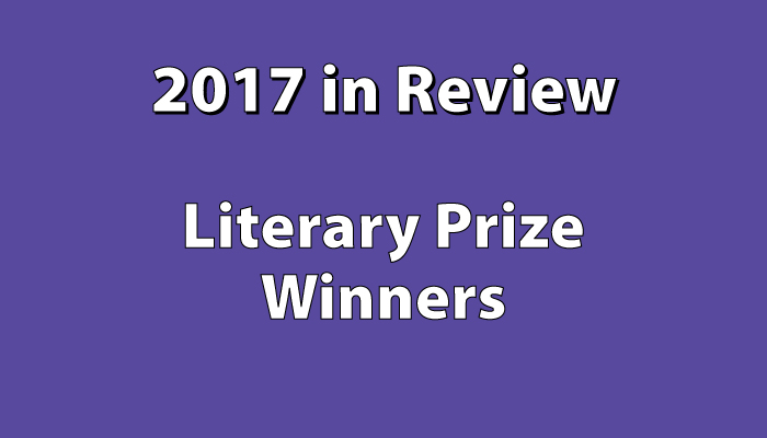 Books that won literary awards in 2017