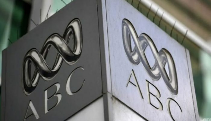 ABC building sign