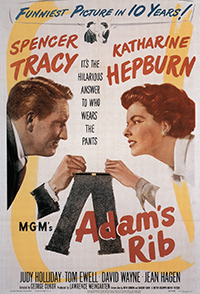 Movie Poster for Adams Rib