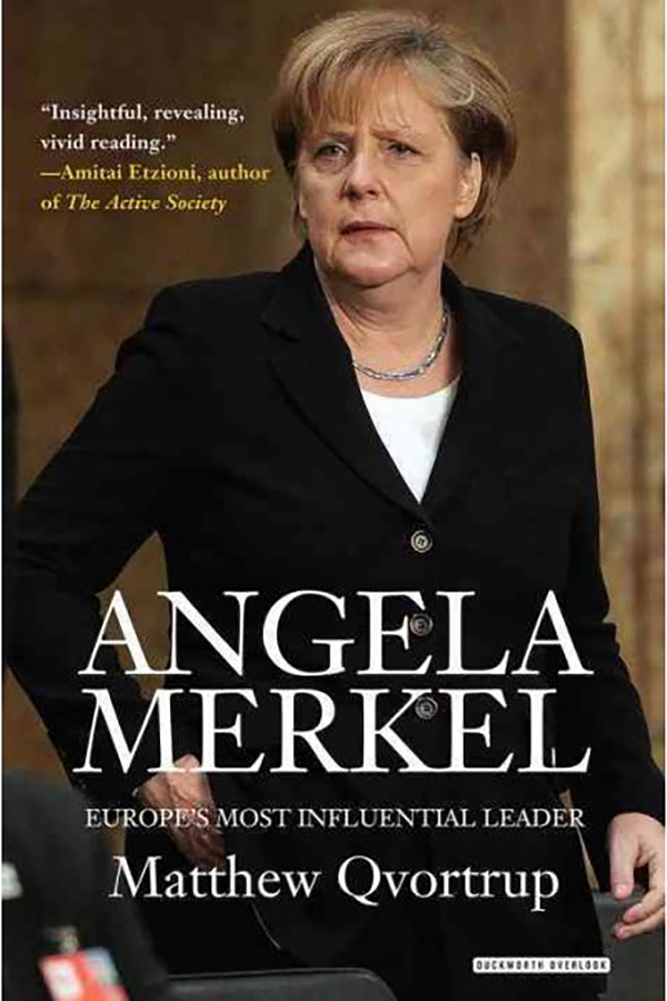 Angela Merkel by Matthew Qvortrup