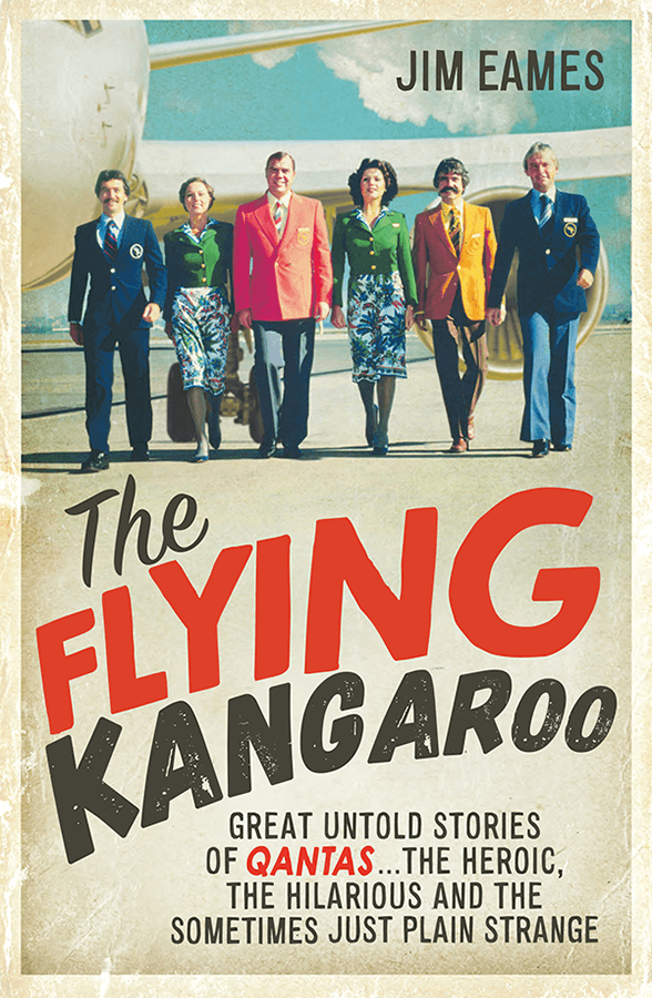 Flying Kangaroo by Jim Eames