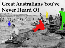 Great Australians Artwork