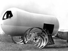 "Molab Concept of a ""Lunar Roving Vehicle (LRV)"", 1965 (Source: NASA)"