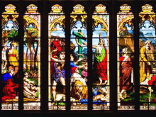 Stained glass by George Hedgeland