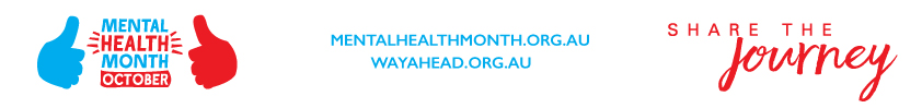 Mental Health Month Foother