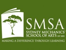 SMSA logo (white on green)