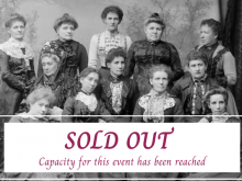 Sold out message Sydney's Invisible Women