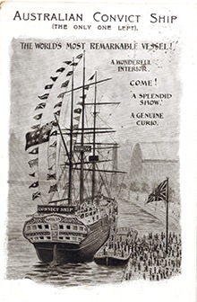 The 'Success' Australian Convict Ship Flyer