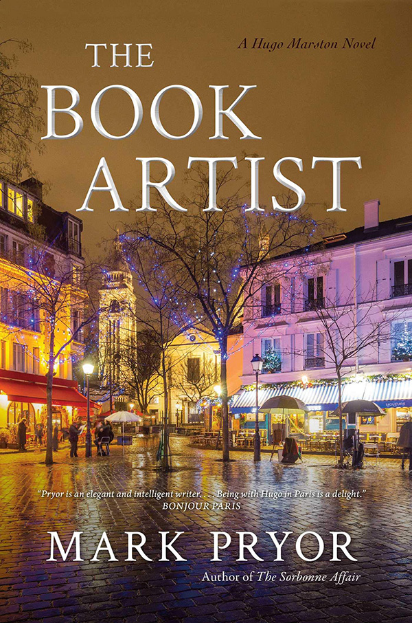The Book Artist by Mark Pryor