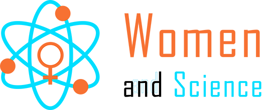 Women and Science Atom logo