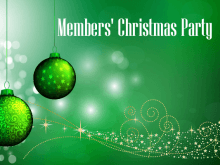 Members' Christmas Party