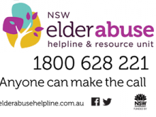 elder abuse helpline 1800 628 221 Anyone can make the call