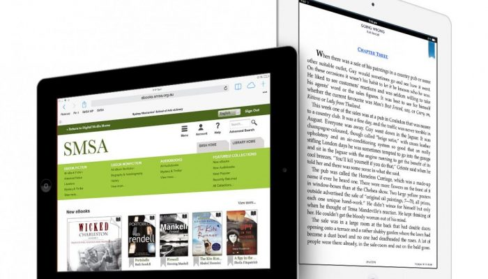 ipads with smsa ebooks
