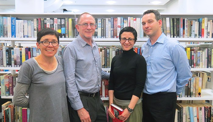 SMSA's new library team