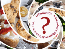 whodunit afternoon tea for library lovers day